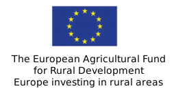EU logo - The Euopean Agricultural Fund for Rural Development, Europe investing in rural areas